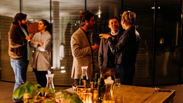 Develop a core set of networking skills to enrich the company at outside events